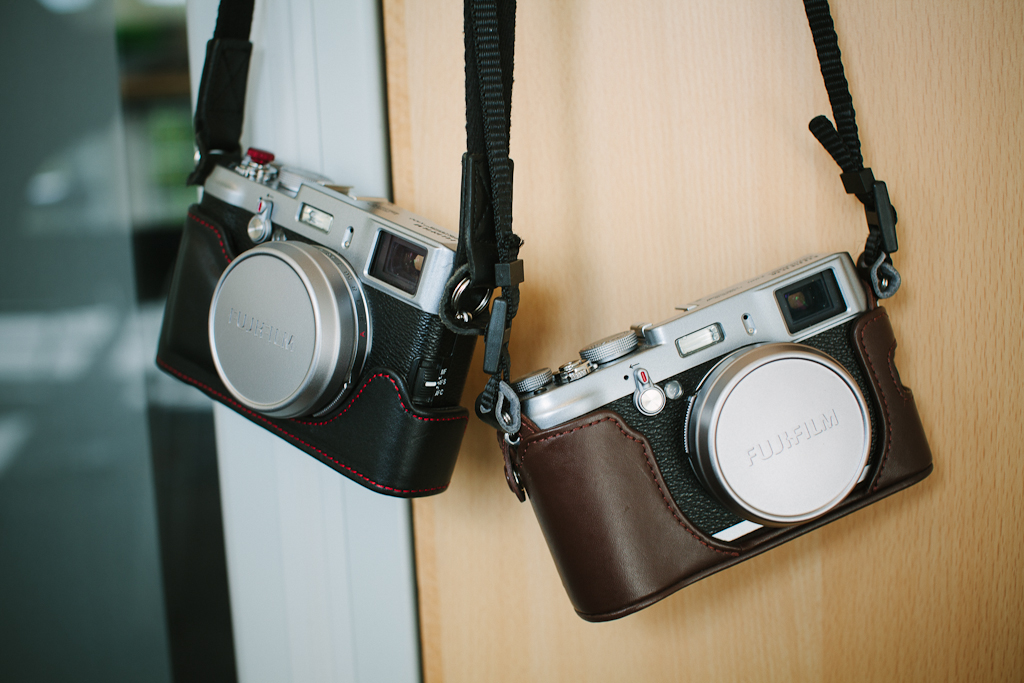 Review: Toma Fuji X100 Leather Half Case